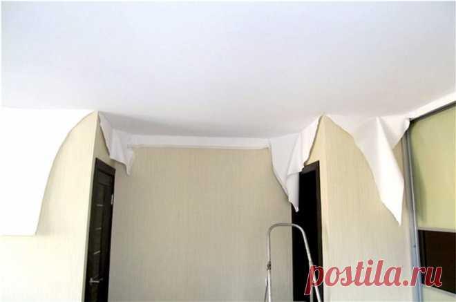 Разница между пленочными и тканевыми потолками   Журнал