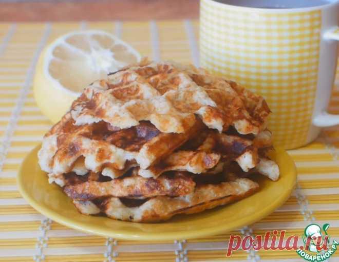 Яблочно-овсяные вафли – кулинарный рецепт