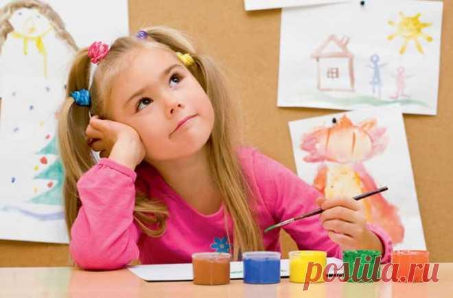 Развитие творческого воображения у дошкольников — Кидсомания