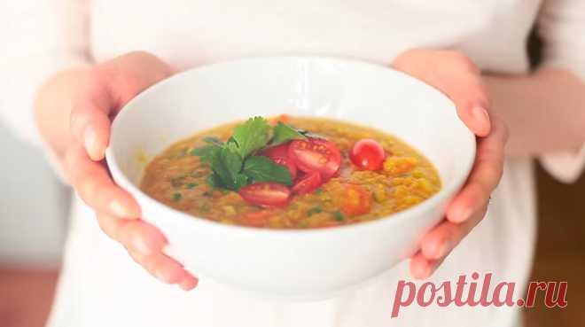 Вкусный чечевичный суп - Очень вкусно