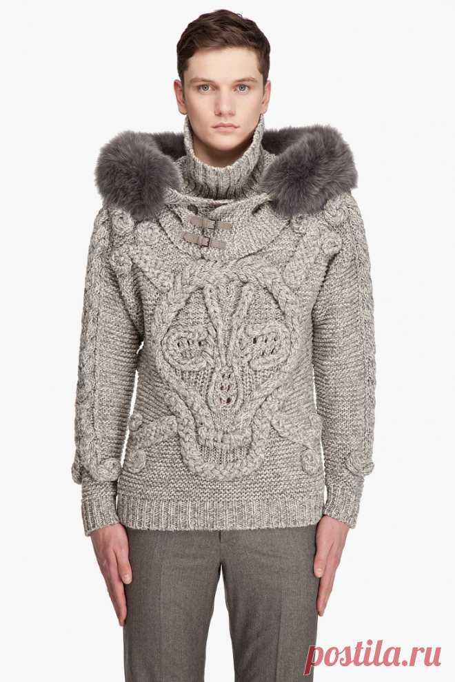 Череп McQueenа Модная одежда и дизайн интерьера своими руками