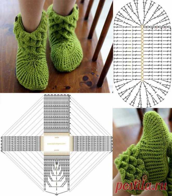 Тапочки-Крокодильчики и еще 100 идей