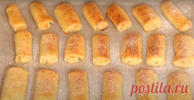 Творожные трубочки с начинкой - Лучший сайт кулинарии