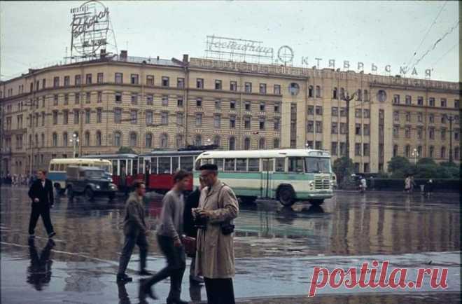 Ленинград 1963 года глазами английского туриста