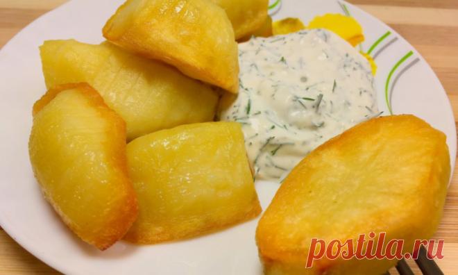 Не картофель, а мечта. Такой гарнир нужно попробовать хоть раз в жизни