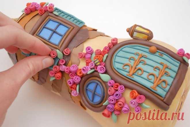 Волшебный домик — Поделки с детьми
