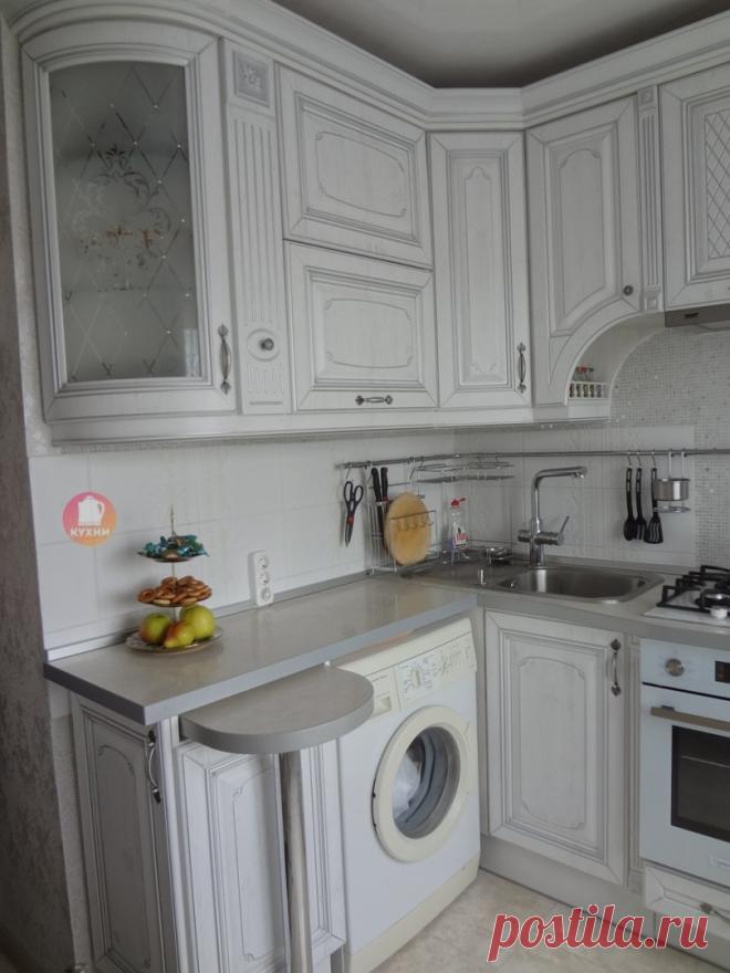 Одна из лучших маленьких кухонь в классическом стиле, что мы видели. Надо было сделать у себя точно так же. | ПРО Дизайн | Яндекс Дзен