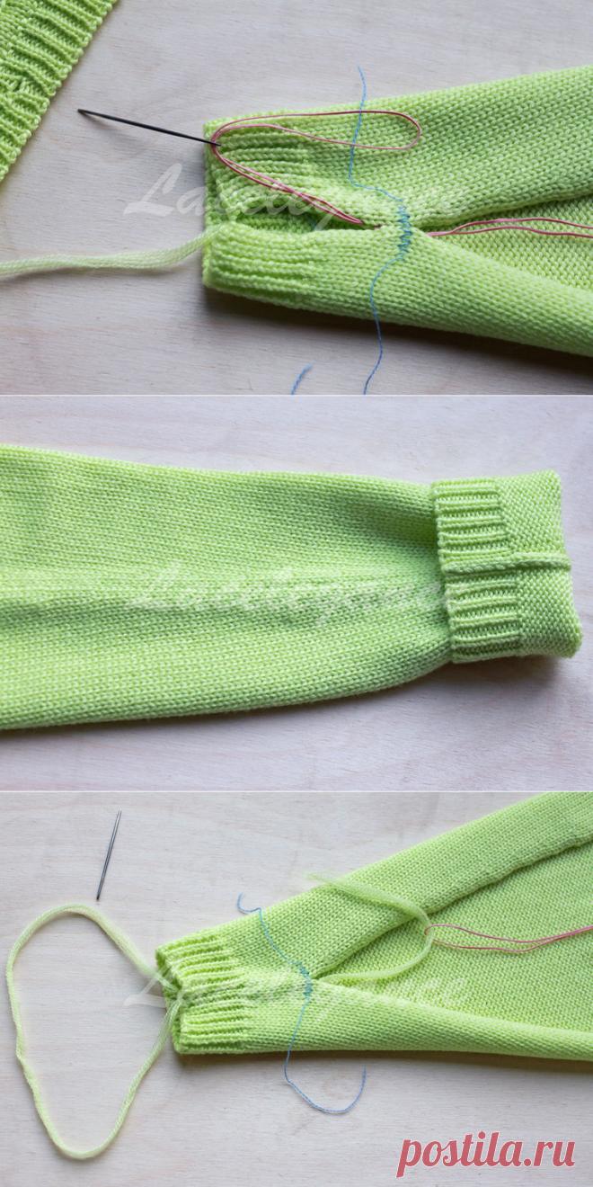 как сшивать вязаные изделия ярмарка мастеров ручная работа