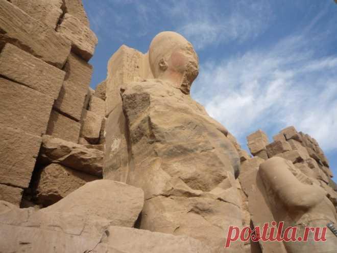 Карнакский храм Луксора