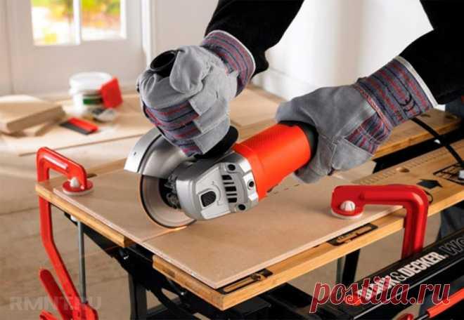 Как резать плитку болгаркой. Правила техники безопасности