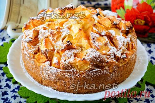 Рецепт из яблок выпечка десерты