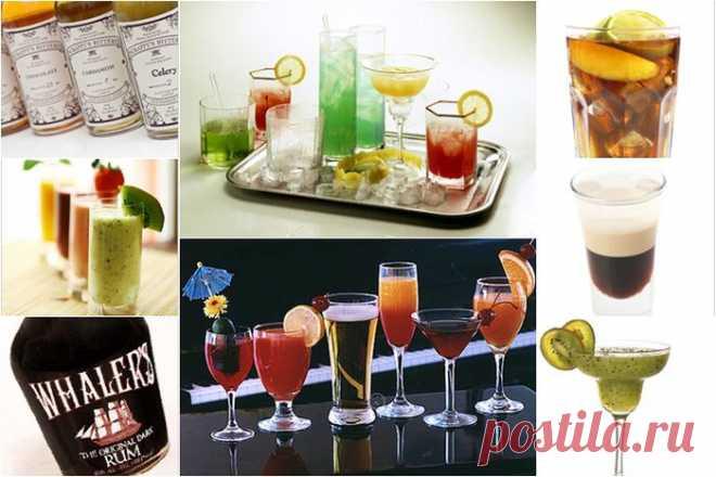 Алкогольные коктейли для мужчин: держите меня семеро