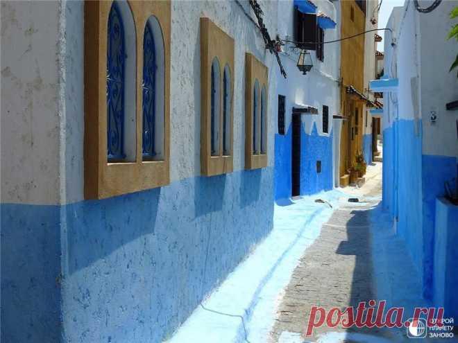 Рабат - столица королевства Марокко, расположенная на берегу Атлантического океана, в устье реки Бу-Регрет. - Путешествуем вместе