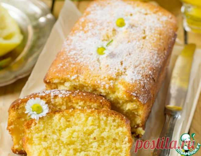 """Лимонный пирог """"Наивкуснейший"""" – кулинарный рецепт"""