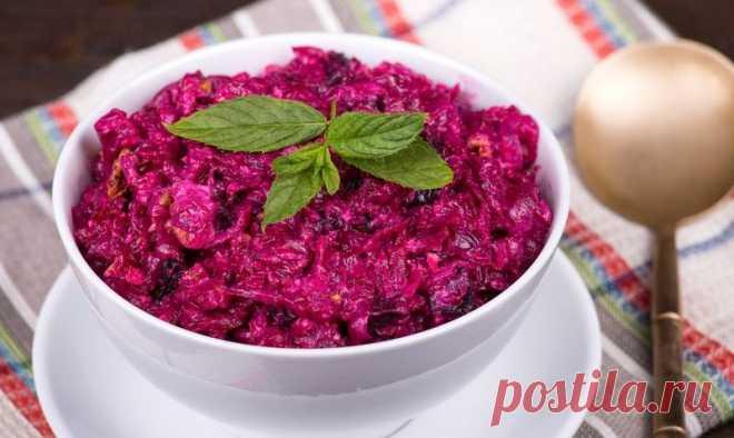 Вкусный салат из свеклы — на радость детям и взрослым   Город поваров