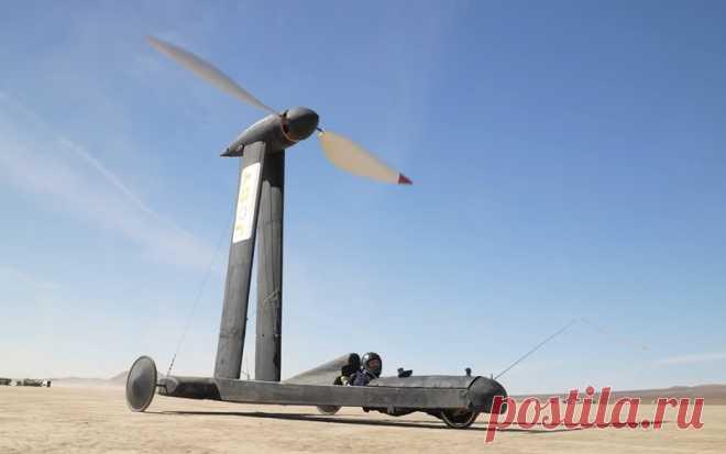 Ветроход Blackbird: самая нелогичная машина, которая работает— журнал Зарулем