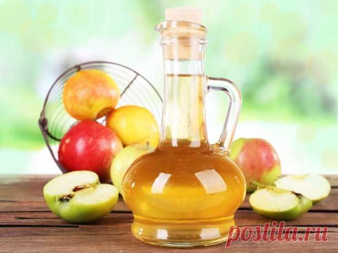 Яблочный уксус улучшает здоровье