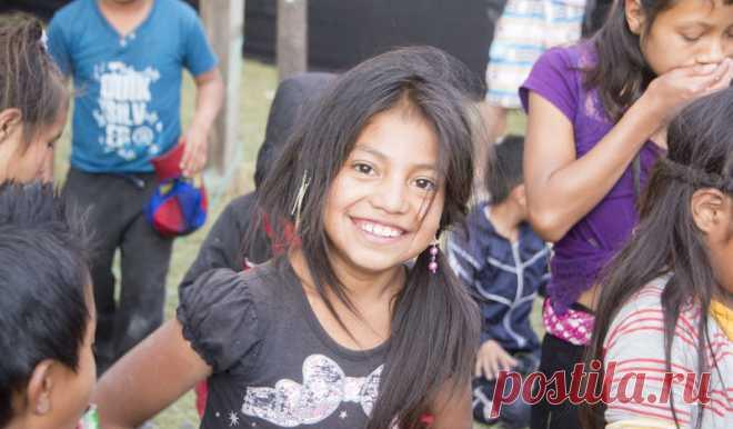 Русская девушка в Гватемале стала богом . Чёрт побери