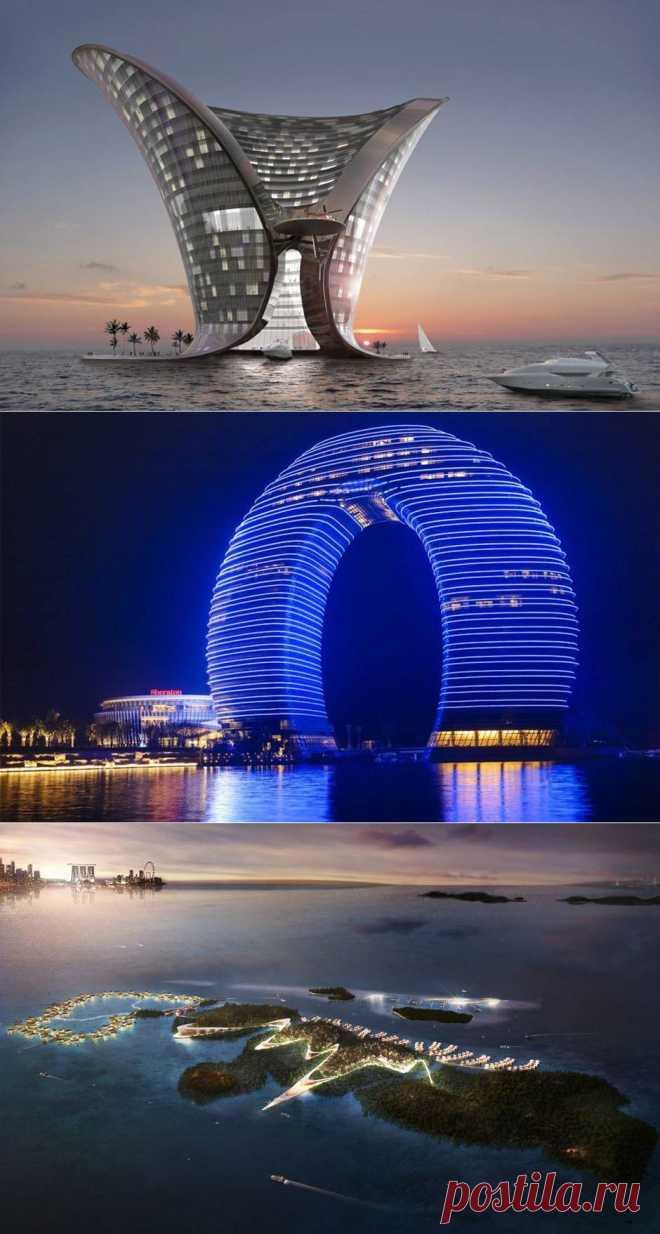 Причудливые отели будущего. Фото.   Happy Lady   Счастливая женщина