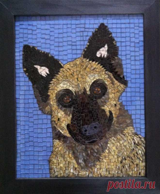 Dog Mosaic (Page 2) - Line.17QQ.com