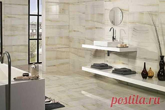Чем заменить кафельную плитку в ванной | Роскошь и уют