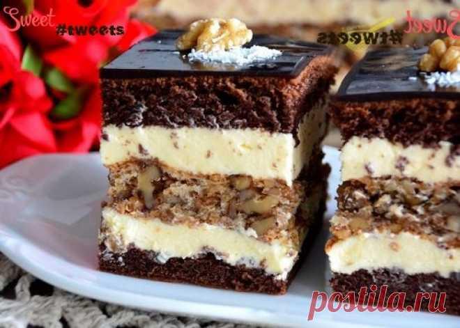 """Торт """"Шоколадно-Ореховый"""" image 1"""
