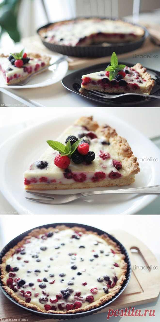 Малиновый клафути. Один из наивкуснейших десертов.