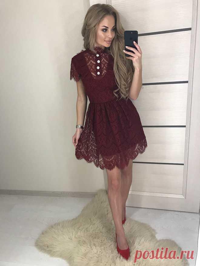 c1e21942f0d СУПЕР ПРЕДЛОЖЕНИЕ Платье модель FTC387 • Ткань  гипюр ресничка • Подклад   дайвинг Цвет
