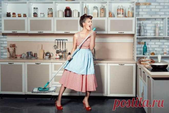 7 секретов, как полюбить уборку и готовку — Полезные советы