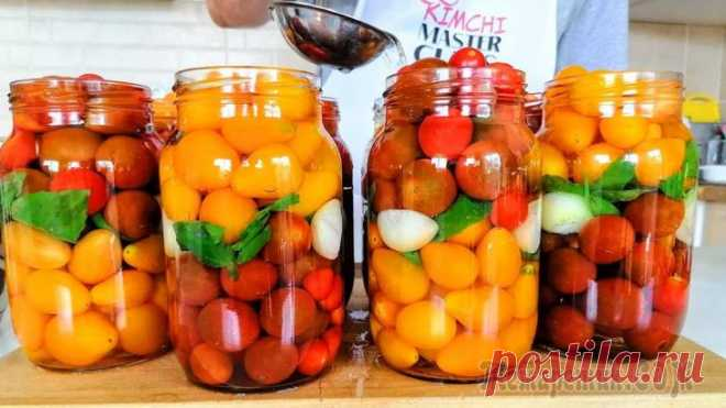 Медовые помидоры на зиму / Зимой открыли и пожалели, что приготовили мало! Еще один чудесный рецепт консервации! Медовые помидоры на зиму, рецепт просто бомба! Красивый и вкусный, когда первый раз готовили, пожалели, что мало. Такие помидоры можно дарить вместо подарка!Для п...