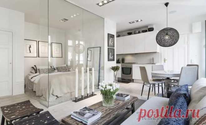 Романтичная квартирка 34 м² в Стокгольме Скандинавский стиль тоже бывает разным: минималистичным, по-домашнему семейным, или же — как в этой небольшой квартире — легким и романтичным. Квартира расположена в Остермальме, большом районе в цент...