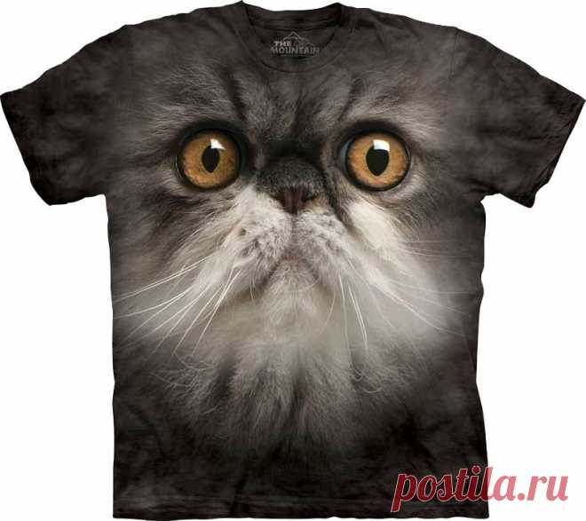 АРТ № 103356 Футболка The Mountain - Furry Face Бесшовная футболка -варенка 100% хлопок Размеры Детские S, M, L,XL  +  Взрослые  S, M, L,XL, XXL, XXXL, 4ХL,  4ХL Рисунок нанесен красками на водной основе. Не выгорает, не тянется