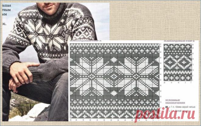 20 серых кофточек с жаккардовым узором - подборка моделей и схем - вязание спицами - в копилку мастериц | МНЕ ИНТЕРЕСНО | Яндекс Дзен