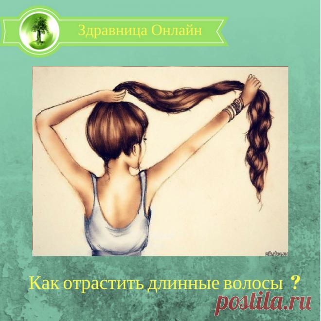 Как отрастить длинные волосы | У МЕНЯ В ГОСТЯХ. | Яндекс Дзен