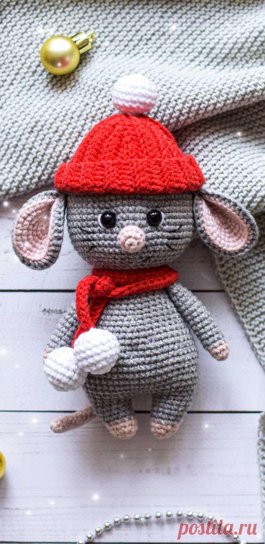 PDF Мышонок Шуршик крючком. FREE crochet pattern ...