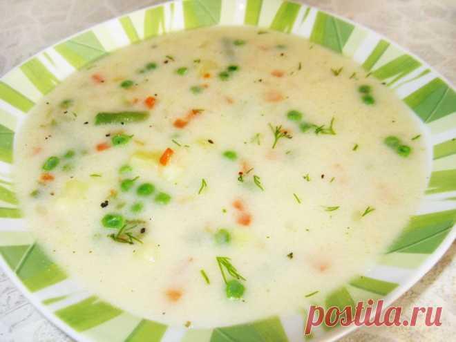 Овощной суп с сыром - рецепт с фото пошагово Овощной суп с сыром - пошаговый кулинарный рецепт приготовления с фото, шаг за шагом.