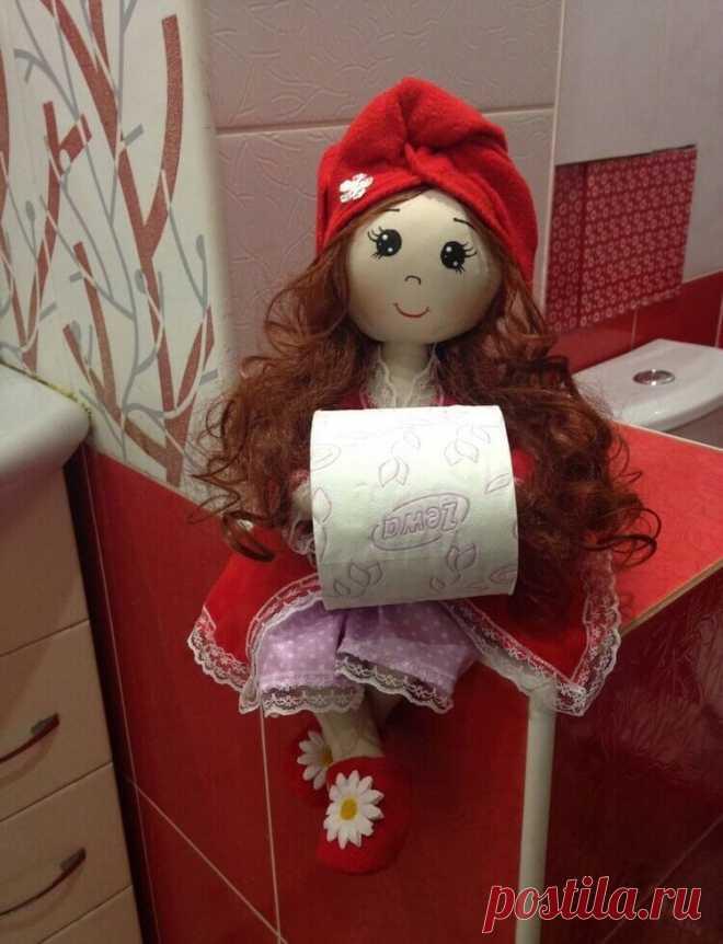 куклы держатели для туалетной бумаги купить